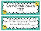 Second Grade Reading TEKS Cards