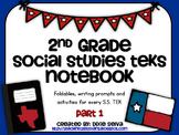 Second Grade Social Studies Notebook part 1