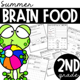 Second Grade Summer Brain Food