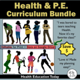 P.E. and Health Curriculum Bundle Price - Save 15%!!