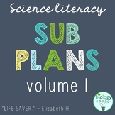 Secondary Science Sub Plans