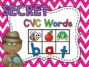 Secret CVC Words
