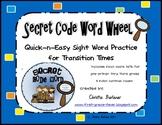 Secret Code Word Wheel-Quick & Easy Sight Word Practice Kit