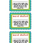 Secret Student Classroom Behavior Management