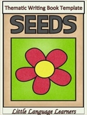 Seeds-Thematic Writing Book Template