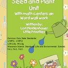 Seeds and Plants Unit with Mr. Potato Head Pieces!