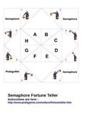 Semaphore Fortune Teller