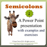 Semicolons Power Point Presentation