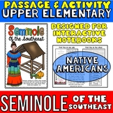 Seminole Native Americans Passage and Activity for INTERAC