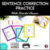 Sentence Correction Practice
