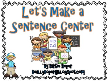 Sentence Making Center