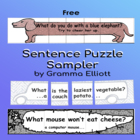Sentence Puzzles - Riddles