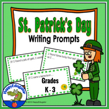 St Patrick's Day Writing
