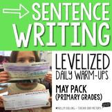 Sentence Writing Warm-Ups (May)