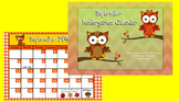 September 2015 Kindergarten Calendar for ActivBoard