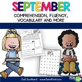 September Fluency Packet - Common Core Correlated