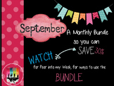 September Monthly Bundle Deal