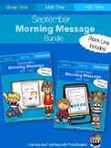 September Morning Message Bundle