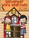 September Word Searches...Print and Go!