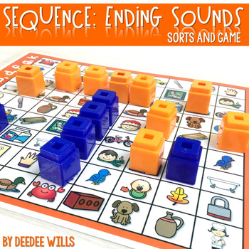 Sequence Game and Sorts for ending sounds b, m, r, s, t