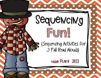 Sequencing Fun! {Sequencing Activities for 4 Fall Read Alouds}