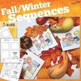 Sequencing Mini-books for Fall/Winter