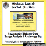 Settlement of Ancient India & Mohenjodaro Notes & Archeolo