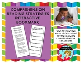 Seven Comprehension Strategies Interactive Bookmark (2-sided)