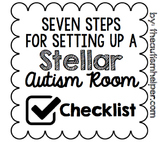 Seven Steps for Setting Up a Stellar Autism Room {CHECKLIST}