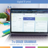 Seventh Grade Grammar Bundle