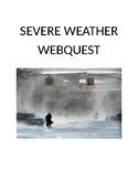 Severe Weather Web quest