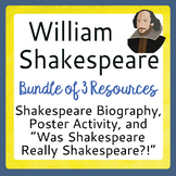 Shakespeare Bundle, Informational Text Resources, Poster A