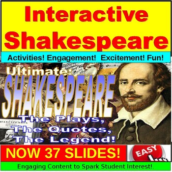 Shakespeare Ultimate Introduction Powerpoint