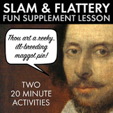 Shakespearean Insults and Flattery Contests, Creative Fun