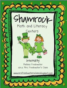 Shamrock Math & Literacy Centers