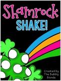 Shamrock Shake!  Vowel themed Centers