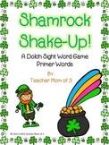 Shamrock Shake-up! St. Patrick's Day Sight Word Card Game!