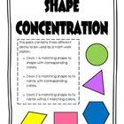Shape Concentration