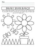 Shape Identification Worksheet