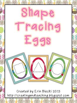 Shape Tracing Eggs