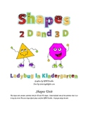 Shape Unit 2D and 3D Shapes