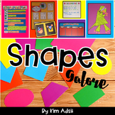 Shapes Galore for the Common Core by Kim Adsit