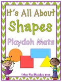Shapes Playdoh Mats