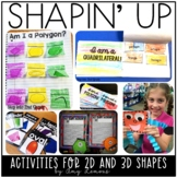 Shapin' Up:  A Shape Unit with 2D and 3D Shapes
