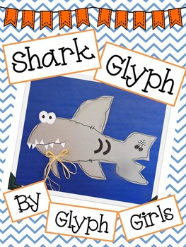 Shark Glyph with Writing Options