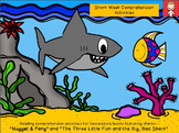 Sharks: Reading comprehension activities for two picture books