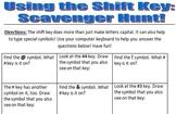 Shift Key Scavenger Hunt!
