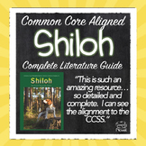 Shiloh Activities, Lessons, Questions, Quizzes - Print and Go!