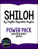 Shiloh by Phyllis Reynolds Naylor Power Pack: 15 Journal P