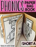 Short A Phonics Paper Bag Book